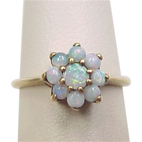 vintage 10k gold opal ring from arnoldjewelers on ruby