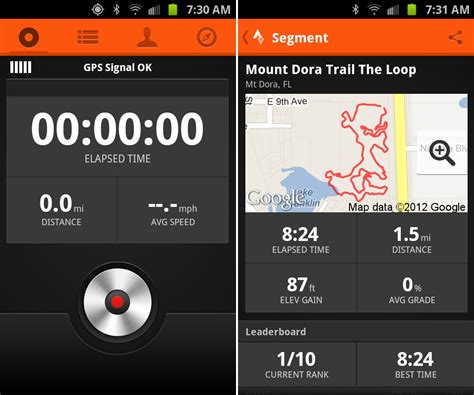 bike app android started using strava it s to be the king fitness