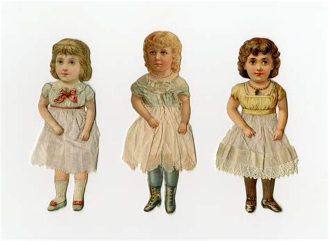 How To Make String Of Paper Dolls - 1000 images about paper dolls vintage on free