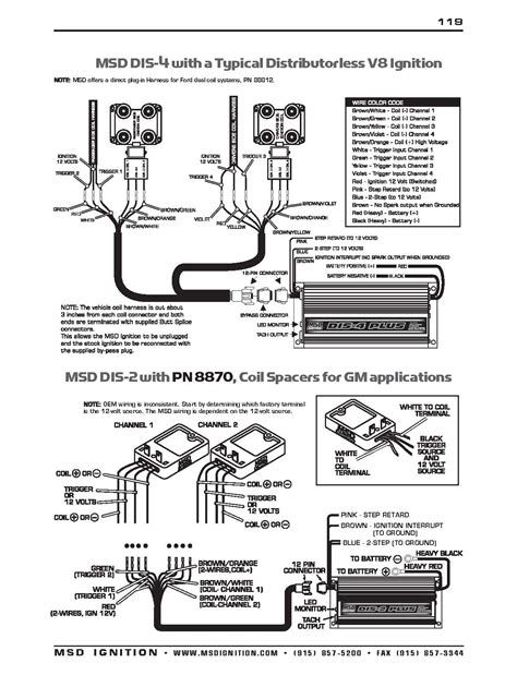 msd ignition wiring diagram chevy msd 6t ignition wiring