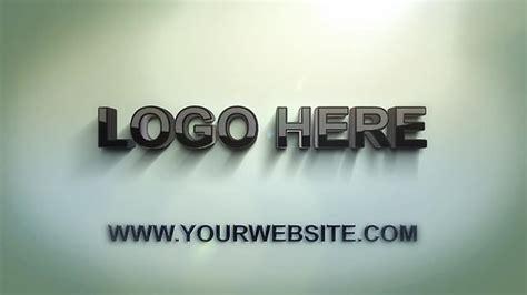 logo intro maker free 3d logo intro animation create your own logo sting