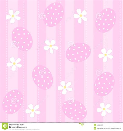 pink easter pattern easter background seamless pattern royalty free stock