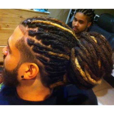 loc bun for men 58 black men dreadlocks hairstyles pictures
