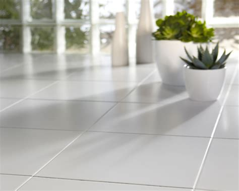 white tile floor get ceramic floor tile surfaces clean home