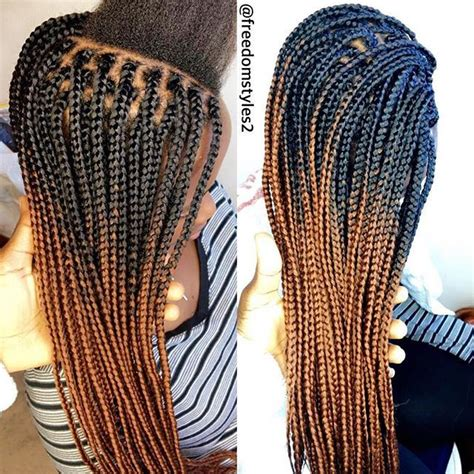 how to do ombre box braids pin by nicole rogers on hair to love pinterest braid