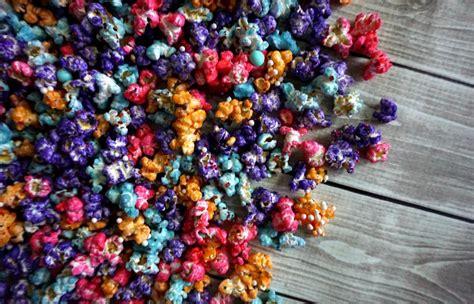 how to make colored popcorn unicorn popcorn nerdy mamma