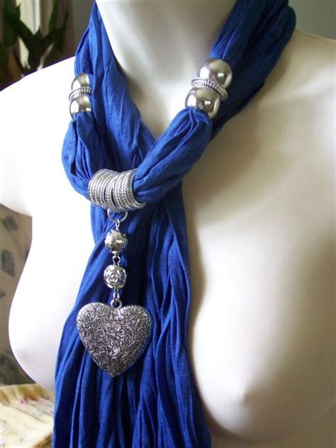 how to make jewelry scarves best 25 scarf necklace ideas on