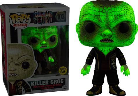 killer croc pop killer croc glow in the pop vinyl figure