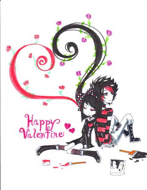 kawaii valentines day happy day by kawaii on deviantart