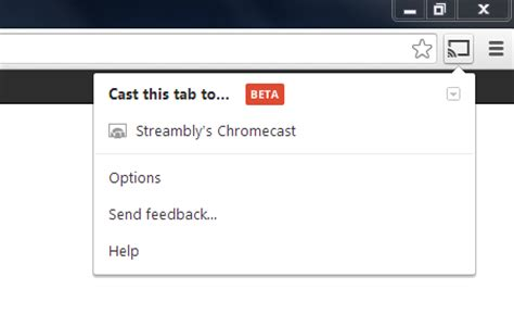 cast extension android chrome chromecast getting started guide streambly