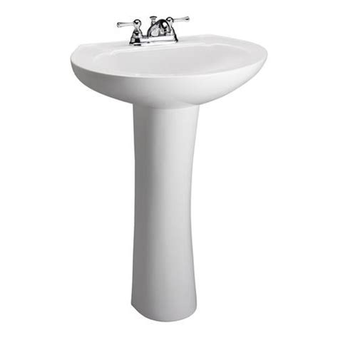 Barclay Pedestal Sink by Barclay Hshire 450 Pedestal Sink 4 Inch At Menards 174