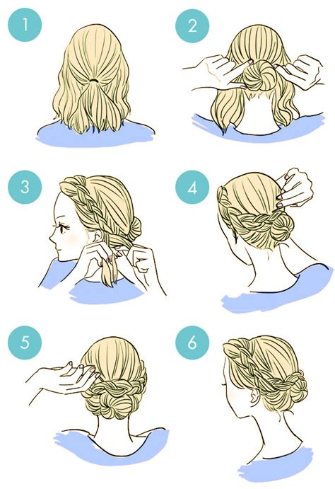 3 everyday hairstyles in 3 minutes quick hairstyle in 3 minutes wonderful diy5
