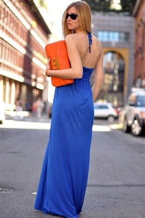orange and blue combination il lookbook di chiara ferragni