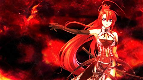 wallpaper anime red girl red hair anime wallpaper 1280x720 9310