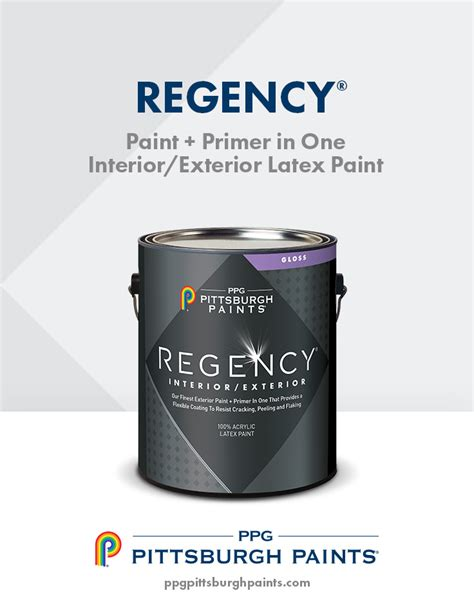 regency interior exterior paint primer in one