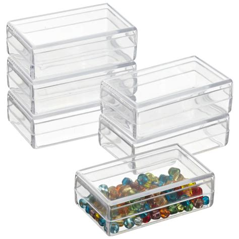 Rectangular Storange Container 370ml mini rectangular boxes the container store