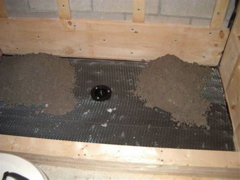 How to Build a Shower Pan (Shower Floor) Before installing