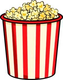 clipart popcorn bucket clipart best