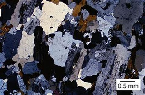granite in thin section developing criteria to distinguish rocks