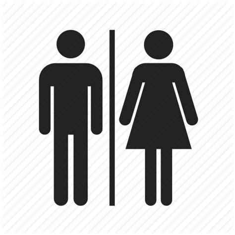bathroom man and woman girl person symbol