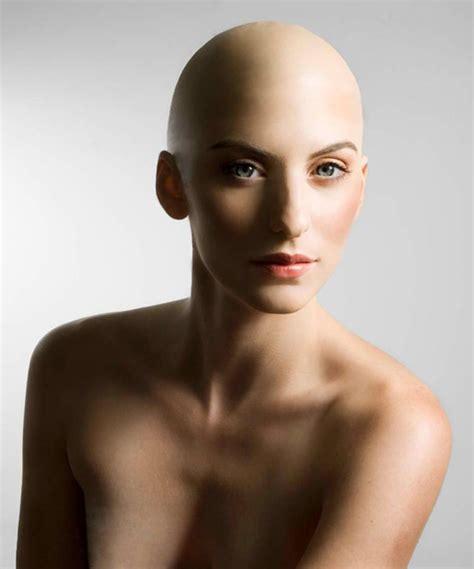 bald women beautiful bald women lunabella makeup hair