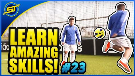 skill football freestyle tutorial learn amazing football freestyle skill tutorial best