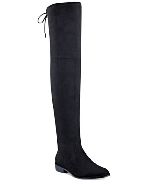 marc fisher the knee boots marc fisher humor the knee boots boots shoes macy s