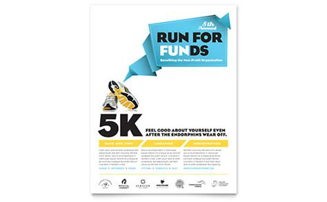 running flyer template running flyer templates sports fitness