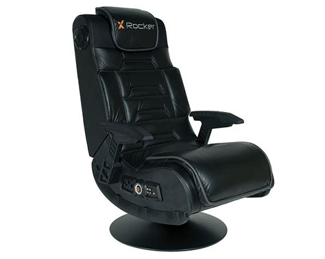 swivel gaming chair new x rocker pro gaming chair tilting swivel base gamer home theater seat ebay