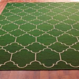 emerald green rug moroccan tile dhurrie rug emerald green and taupe