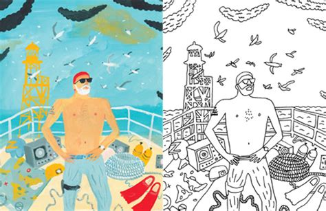 bill murray coloring book i two bill murray coloring book