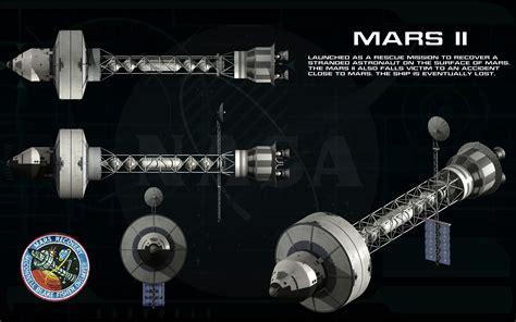 Design Blueprint mission to mars mars ii ortho by unusualsuspex on deviantart