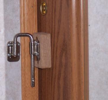 rv bathroom doors latch door barn latch do you remember the unique lock