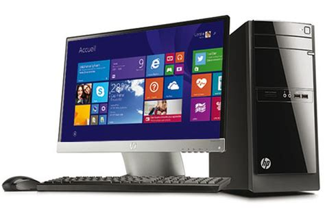 pc de bureau pc de bureau hp 110 522nfm 4088867 darty