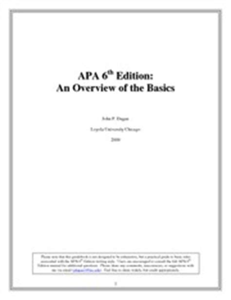 apa format sixth edition title page thesis cover page