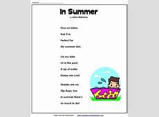 Summer Poem Elfchen