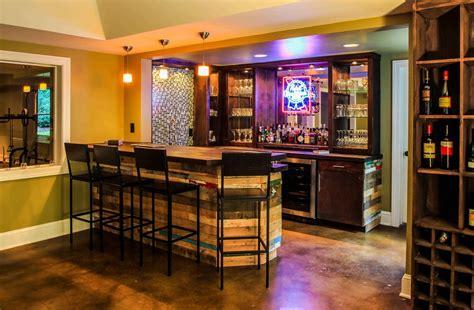 Bar Renovation Ideas Contemporary Basement Decoration Ideas Innovative Pallet Bar