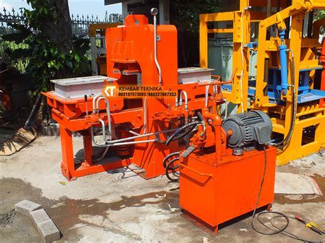 mesin cetak batako manual hidrolik