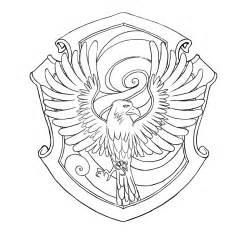 hufflepuff crest coloring page ravenclaw house crest coloring pages coloring pages