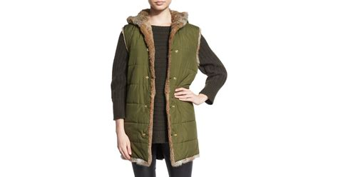 Sale Jacket 3 In 1 World Chion zadig voltaire kar deluxe jacket with fur lined vest in green lyst