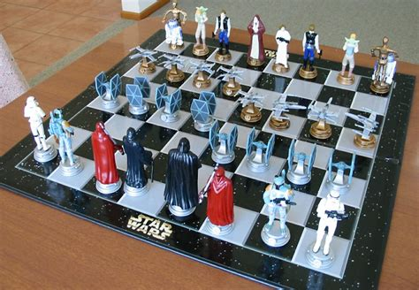 star wars chess sets star wars chess