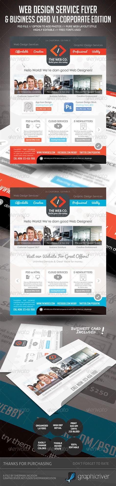 http graphicriver net item funeral service business card template 10998645 print template graphicriver web design service set 1