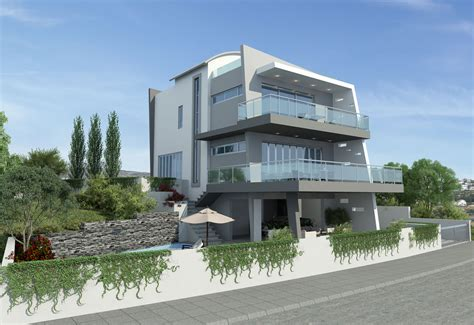 Contemporary Plan by Ultra Contemporary House Plans Modern House Plan