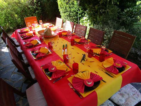 l decoration d 233 co 224 th 232 mes d 233 co de table espagnole