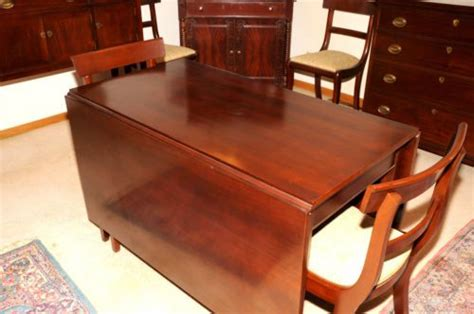 craftique drop leaf dining table   chairs space