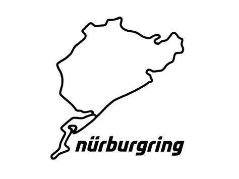 Klassische Motorsport Aufkleber by N 252 Rburgring Aufkleber N 252 Rburgring 8cm