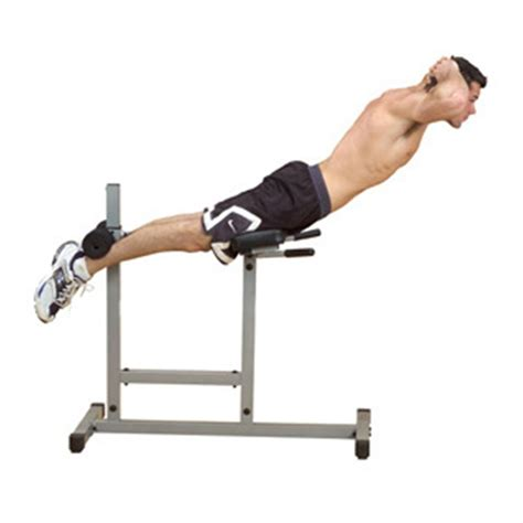hyperextension bench exercises body solid 174 powerline chair back hyper extension