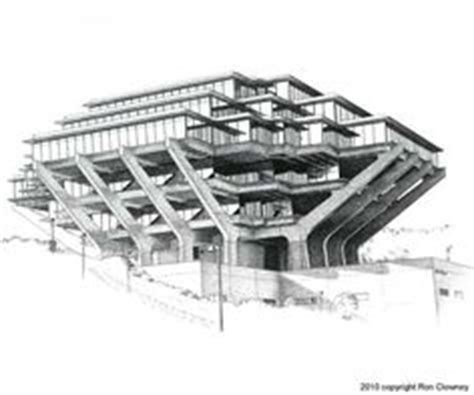 sections ucsd ad classics geisel library william l pereira
