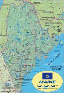 us map maine map of maine united states usa map in the atlas of