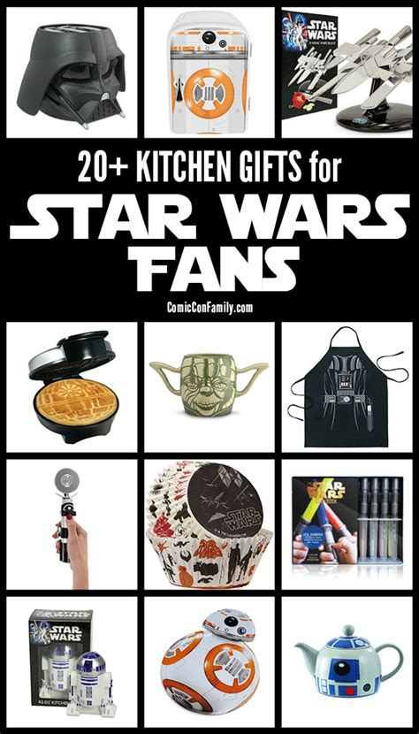 gift ideas for star wars fans 20 kitchen gifts for star wars fans